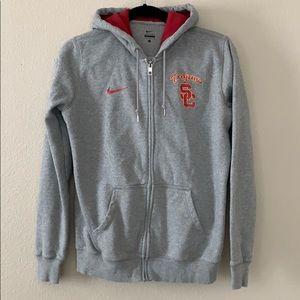 Nike USC Hooded ZIP Up
